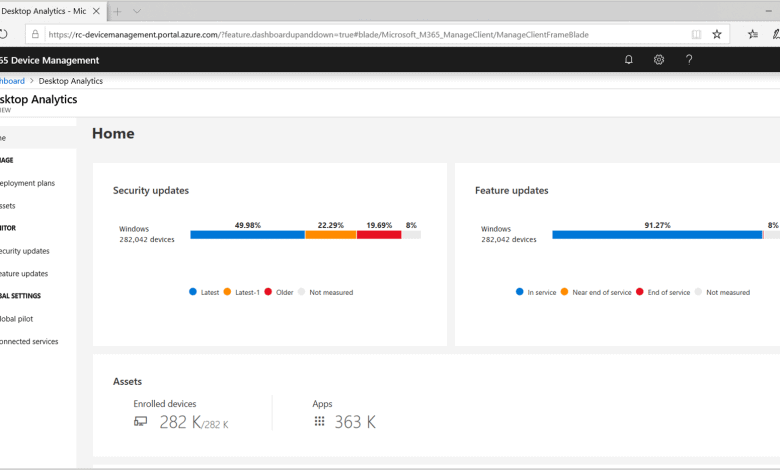 Announcing General Availability of Desktop Analytics