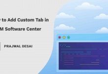 How to Add Custom Tab in Software Center