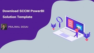 Download SCCM Power BI Solution Template