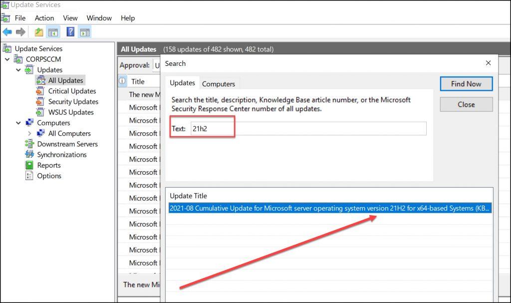 Windows Server 2022 Updates