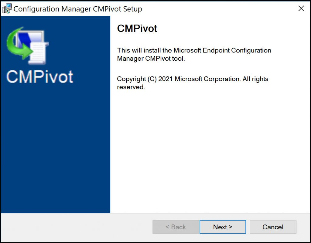 How to Install SCCM CMPivot Standalone App