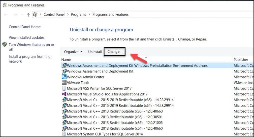 Repair Windows PE add-on for ADK